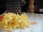 Cheddar cheese.