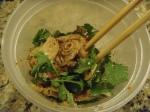 forest mushroom salad