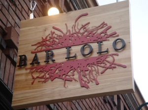 Bar Lolo's new look.