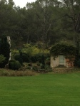 The beautiful Dalmeran estate grounds.