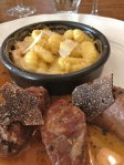 Pork cheek and gnocchi.