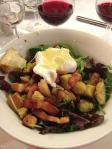 Salade Lyonnaise.