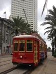 Canal Street streetcar.