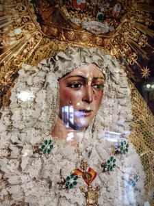 Crying Virgin Mary
