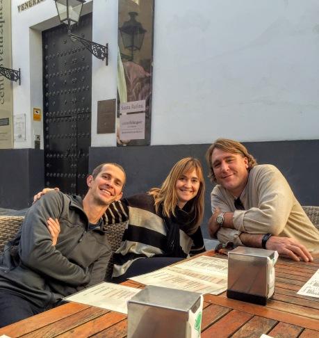 Kyle, Zandra, James