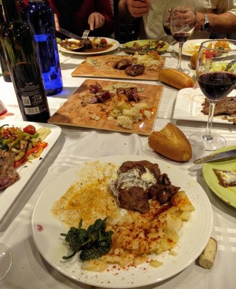 Lunch at La Masia
