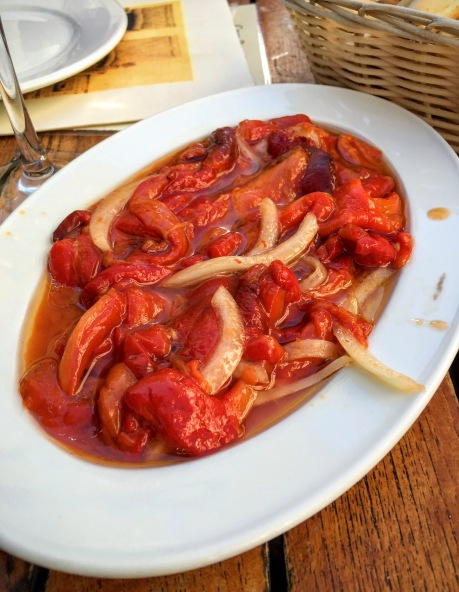 Red Peppers and Olive Oil